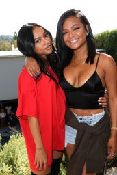 Christina Milian & Karrueche Tran - Good Brother Clothing Launch Pool Party in Hollywood 8/20/2016
