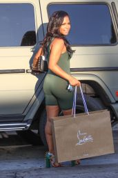 Christina Milian Style - Hollywood 8/30/2016