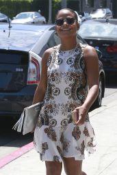 Christina Milian Summer Steet Style - LA 8/22/2016