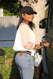 Christina Milian Urban Style - Shopping in Los Angeles 8/26/2016