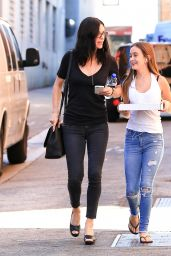 Courteney Cox - Out With Her Daughter in Los Angeles 8/11/2016