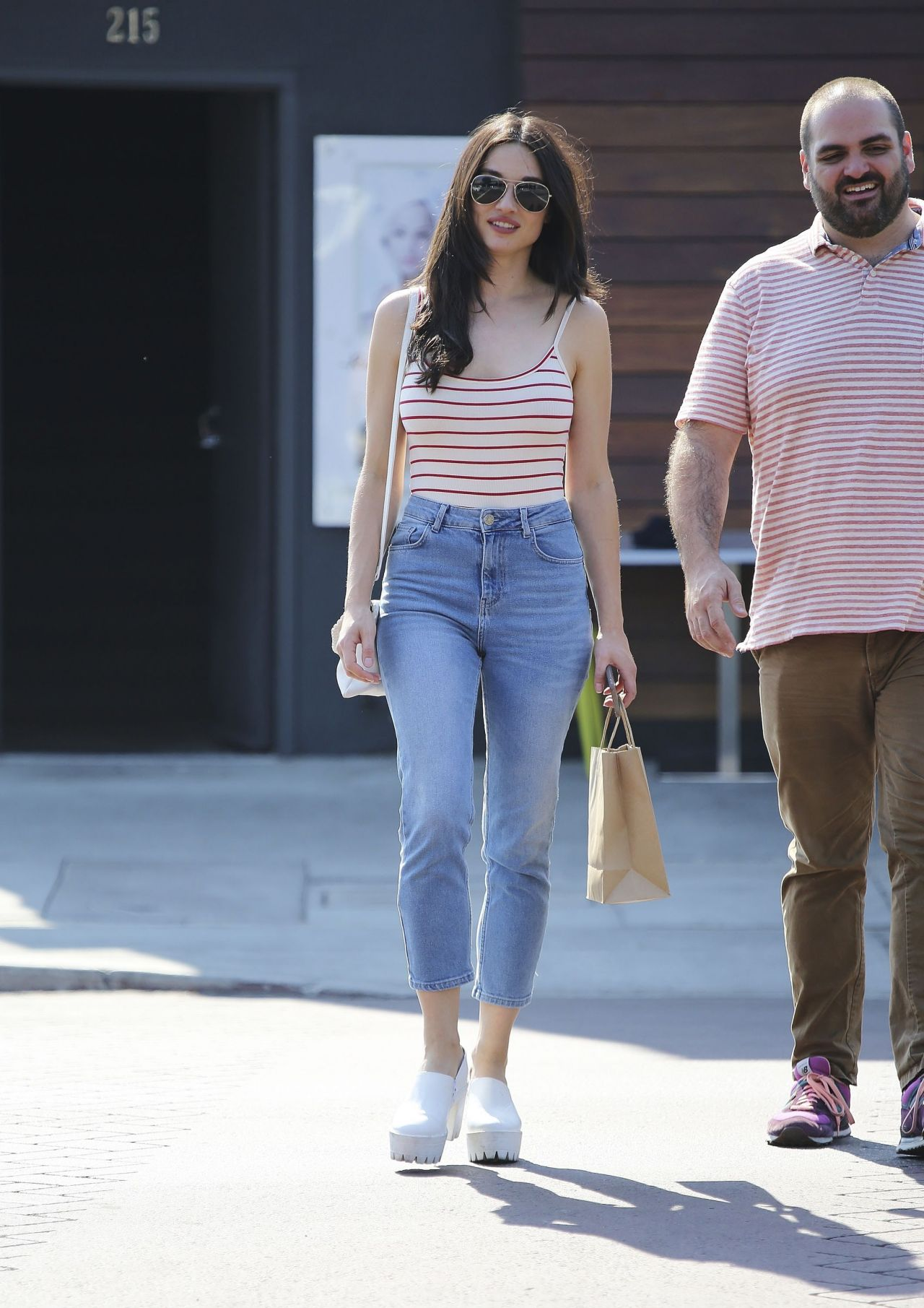 Crystal Reed out in Los Angeles 8/24/2016 • CelebMafia