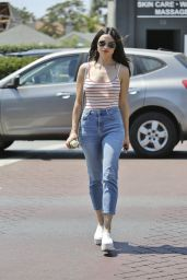 Crystal Reed out in Los Angeles 8/24/2016