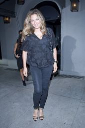 Daisy Fuentes Night Out Style - Leaving Craig
