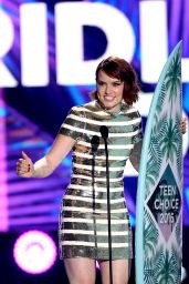 Daisy Ridley – Teen Choice Awards 2016 in Inglewood, CA