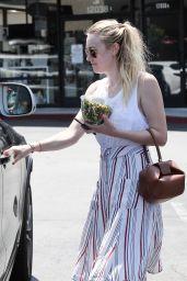 Dakota Fanning - Out in Los Angeles 8/5/2016