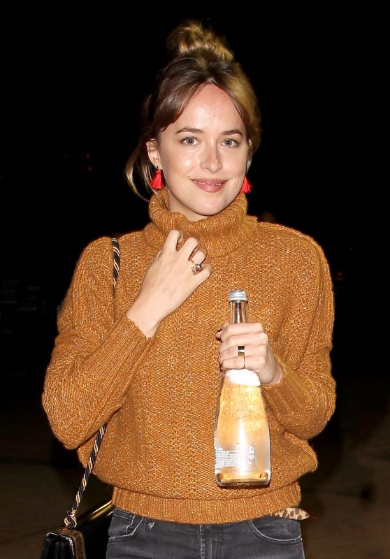Dakota Johnson Casual Style - Radiohead Concert in Los Angeles 8/8/2016