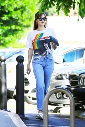 Dakota Johnson Street Style - Out in LA 8/15/2016