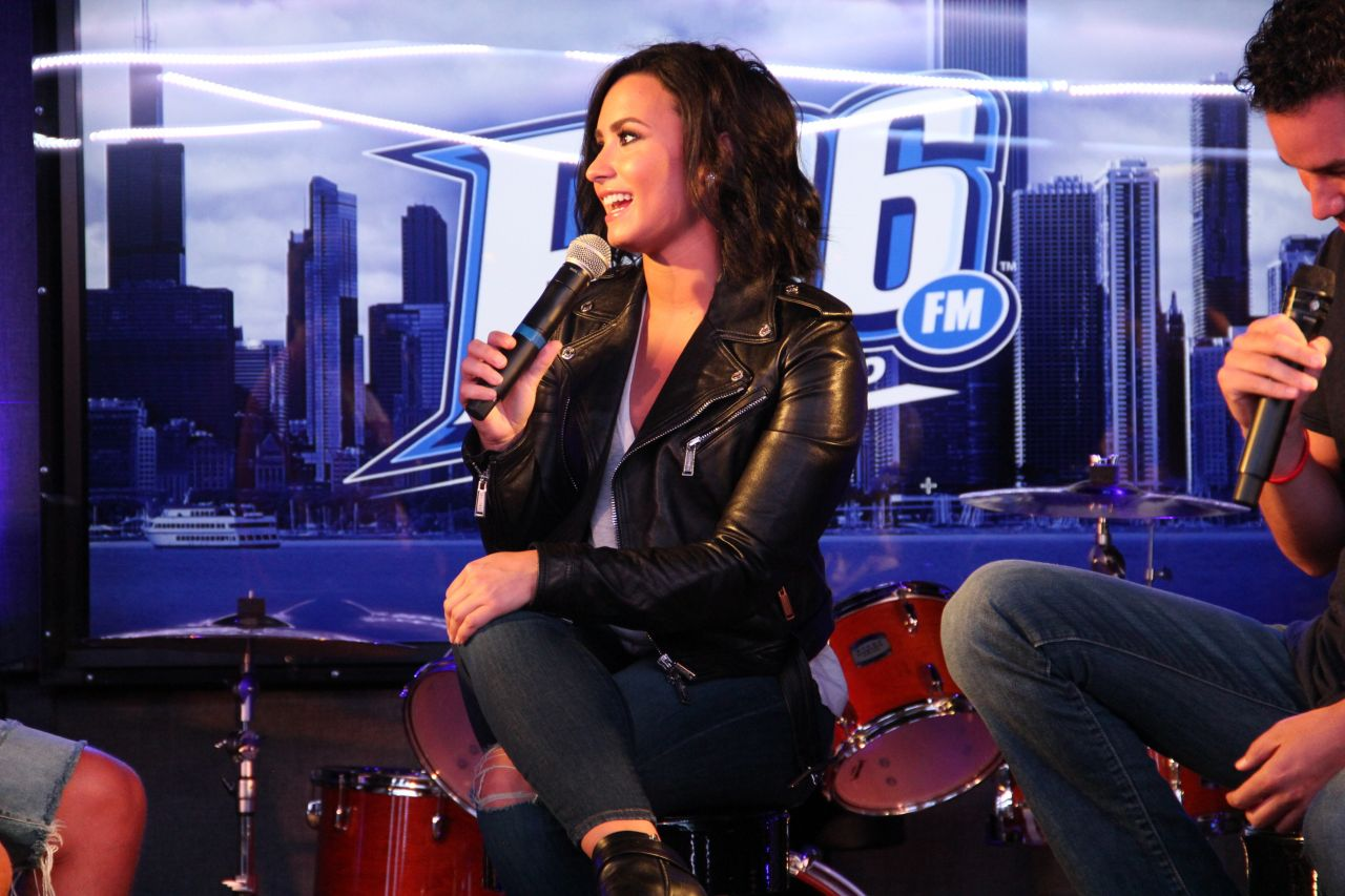 Demi Lovato Interview With Bsix Chicago In Chicago