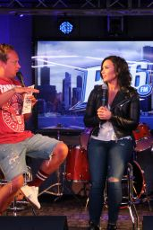 Demi Lovato - Interview With B96 Chicago in Chicago 8/2/2016