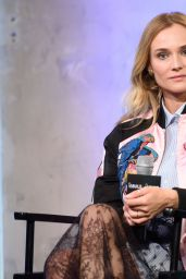 Diane Kruger - AOL Build Speakers Series in NYC 8/9/2016