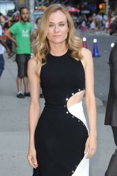 Diane Kruger Arriving to Appear on The Late Show With Stephen Colbert in New York City 8/4/2016