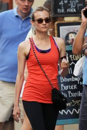 Diane Kruger - Spotted Leaving The Gym in Soho, NYC 8/8/2016
