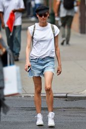 Diane Kruger Street Style - Out for Lunch in Los Angeles 8/10/2016