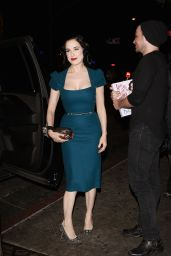Dita Von Teese - Arrives to Film Reality Show in Los Angeles, August 2016