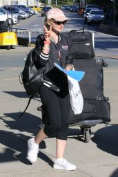 Dove Cameron at Vancouver International Airport, August 2016