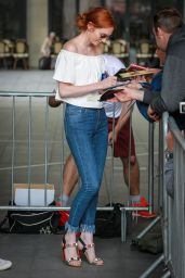 Eleanor Tomlinson - BBC Radio One Studios in London 8/31/2016