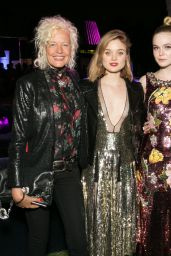 Elle Fanning, Bella Heathcote, Christina Hendricks, and Dakota Fanning -