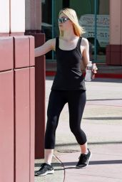 Elle Fanning -  Goes to a Dance Class in Los Angeles 8/18/2016