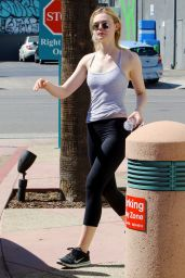 Elle Fanning - Leaving Dance Studio in North Hollywood 8/28/2016