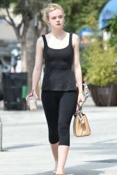 Elle Fanning - Out in Los Angeles 8/27/2016