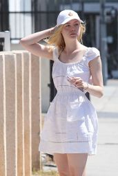 Elle Fanning - Out in West Hollywood 8/29/2016