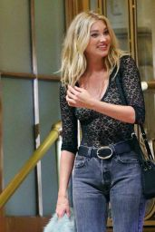 Elsa Hosk - Photoshoot in New York City 8/3/2016