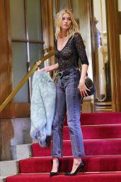 Elsa Hosk - Photoshoot in New York City 8/3/2016