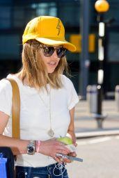 Emilia Clarke Travel Outfit - London
