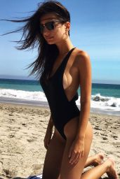 Emily Ratajkowski Social Media Photos, August 2016