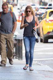 Emily VanCamp Street Style - NYC 8/23/2016