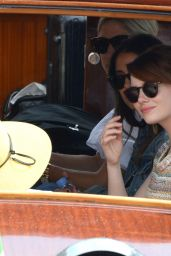 Emma Stone - Aarriving for the Venice Film Festival in Venice, Italy 8/30/2016