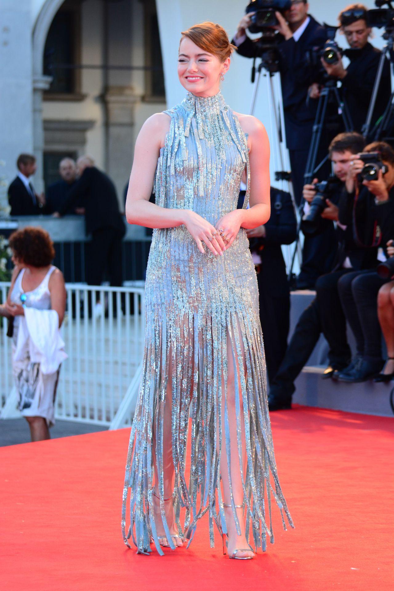 Emma Stone La La Land Premiere Venice Film Festival