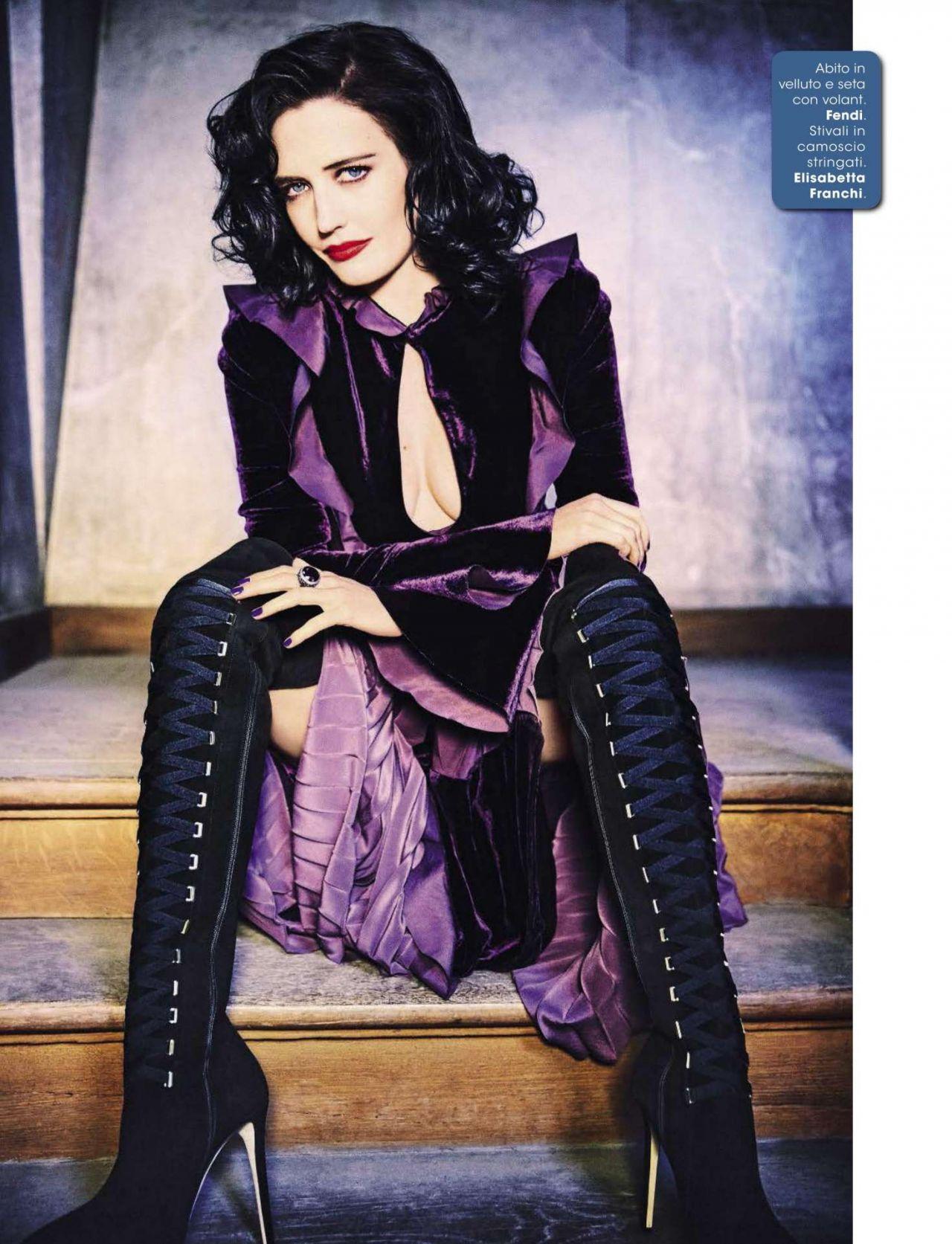 Eva Green – Glamour Magazine Italy August 2016