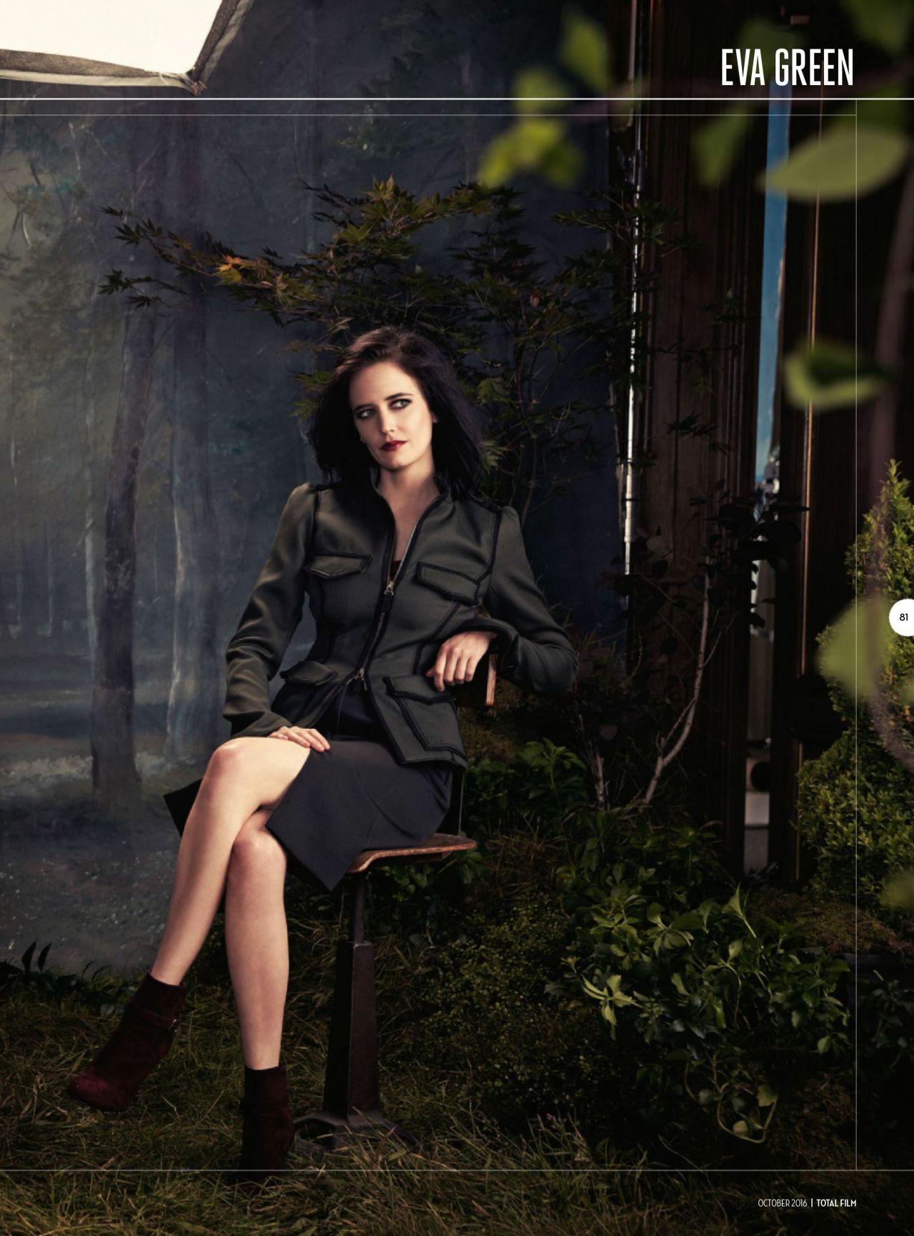 Eva Green Total Film Magazine October 2016 Issue