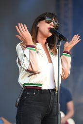 Foxes Perfoms at V Festival at Hylands Park in Chelmsford, England 8/21/2016