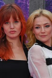 Georgia May Jagger and Clara Paget – 'Suicide Squad' Premiere in London 8/3/2016