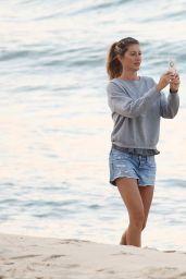 Gisele Bundchen on a Beach in Rio de Janeiro, Brazil 8/5/2016