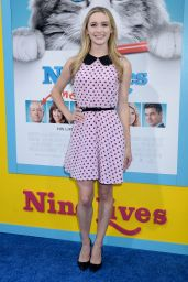 Greer Grammer – 'Nine Lives' Premiere in Hollywood 8/1/2016
