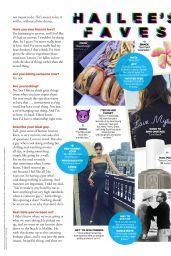Hailee Steinfeld  - Seventeen Magazine September 2016 Issue