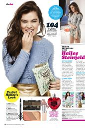 Hailee Steinfeld  - Seventeen Magazine September 2016 Issue