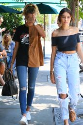 Hailey Baldwin & Madison Beer - Out in West Hollywood 8/8/2016