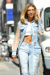 Hailey Baldwin Urban Style - New York City 8/24/2016