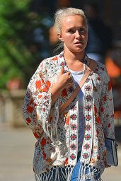 Hayden Panettiere Casual Style - NYC 8/3/2016