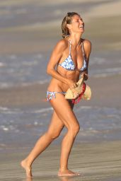 Heidi Klum in Bikini - Beach in the Caribbean 8/7/2016