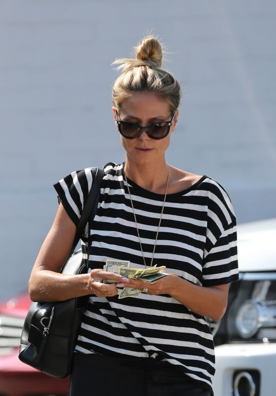 Heidi Klum - Out in Los Angeles 8/25/2016