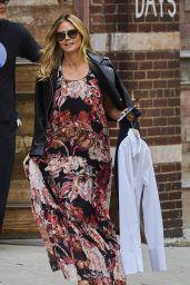 Heidi Klum Street Outfit - NYC 8/6/2016