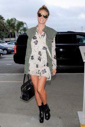 Heidi Klum Style - LAX Airport in LA 8/3/2016