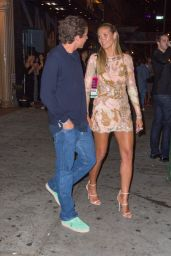 Heidi Klum With Vito Schnabel - Outsidr NYC Club 8/28/2016