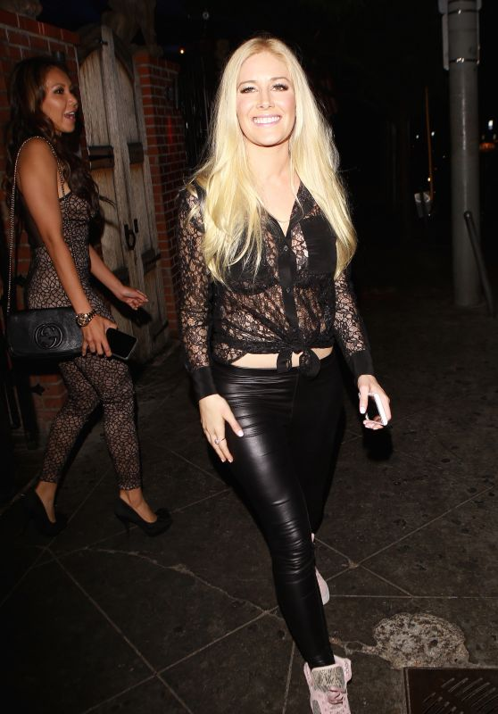 Heidi Montag Night Out - at the Abbey in West Hollywood 8/9/2016